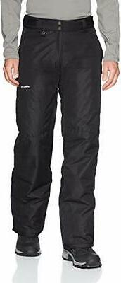 Arctix Men's Essential Snow Pants, Black, XX-Large/Regular