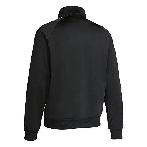 cheaper b8639 2622c adidas Tricot Track Large. adidas Men s Essentials 3-Stripe Tricot Black White,  Large. adidas Tricot Black White, Large