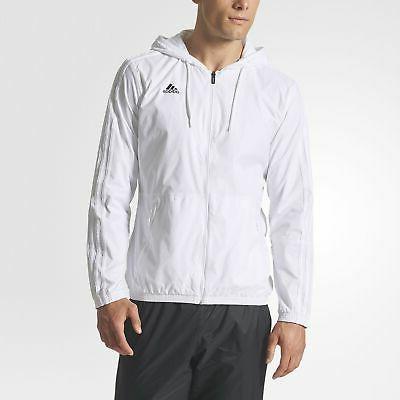 essentials 3 stripes wind jacket men s
