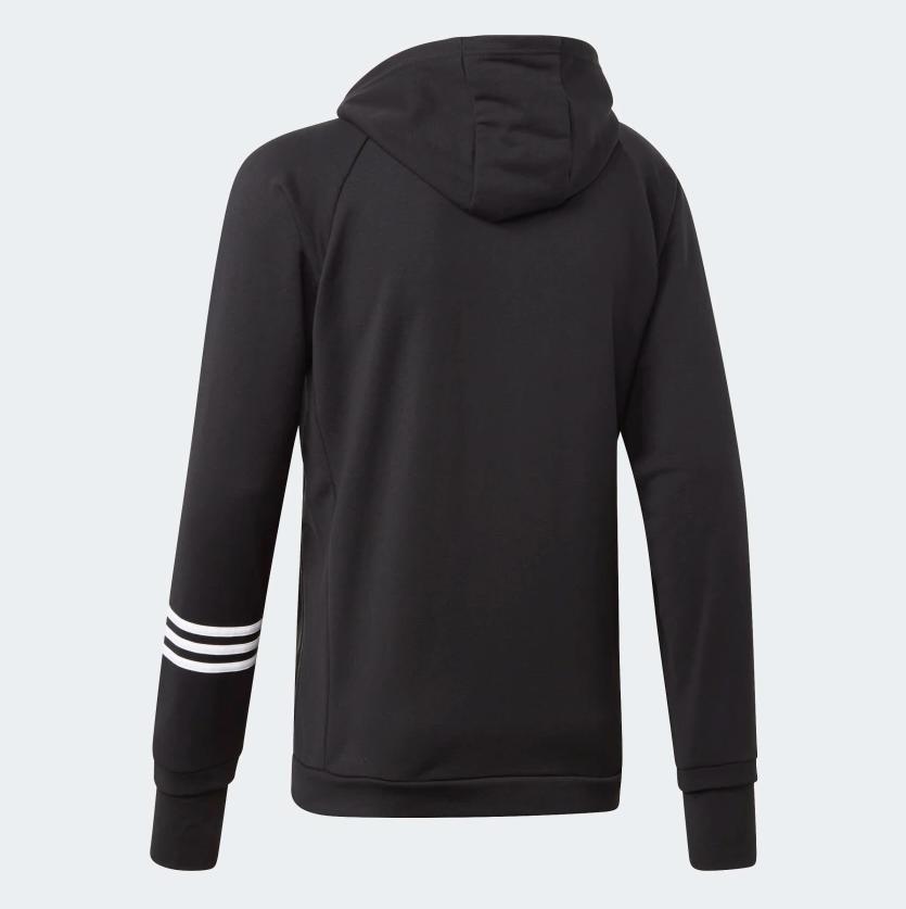 adidas Pack Track Hoodie Zip Black DT8994