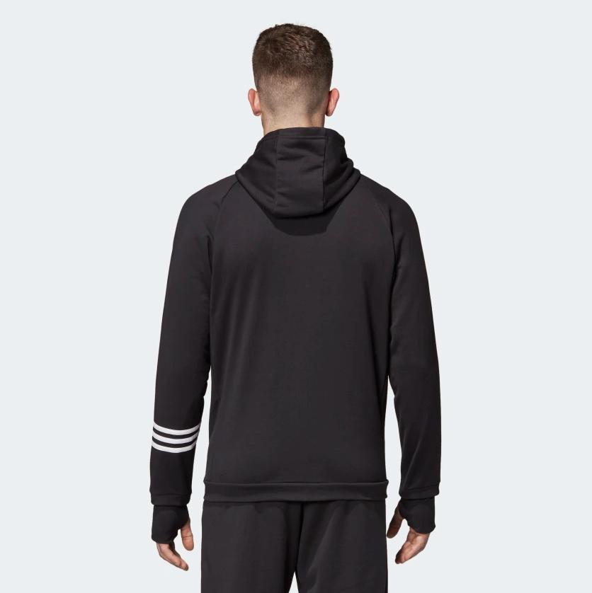 adidas Essentials Pack Track Full Zip Mens L Black DT8994