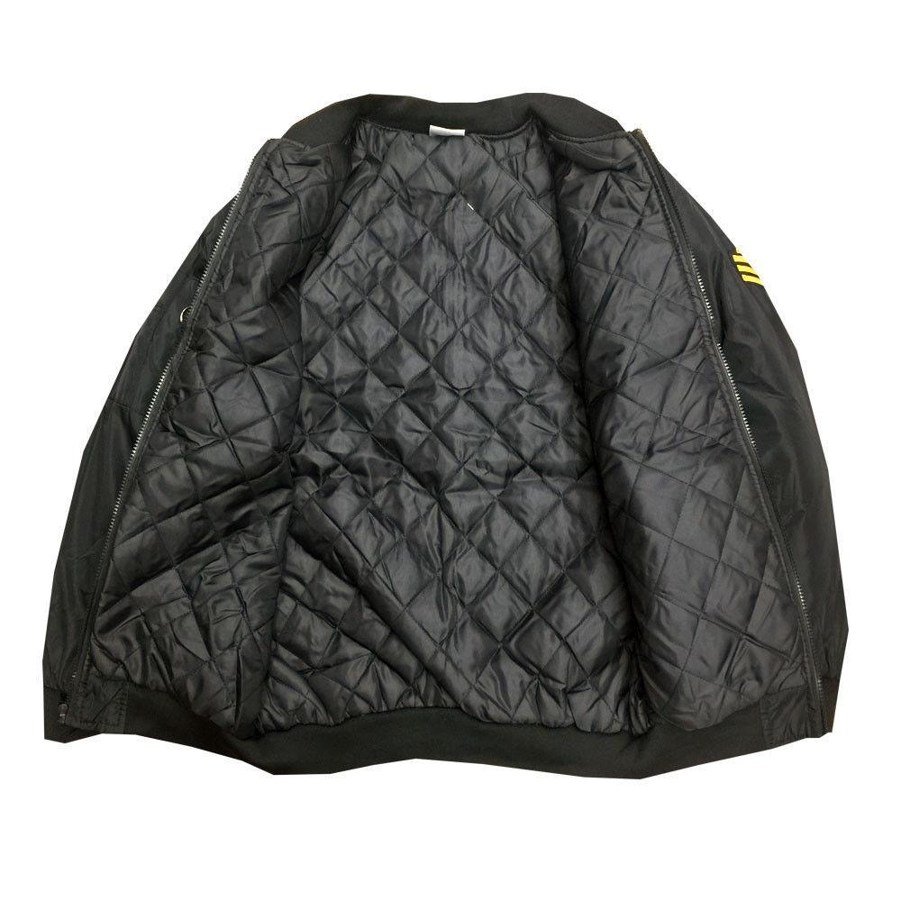 Fashion Motors Decal Jacket Black