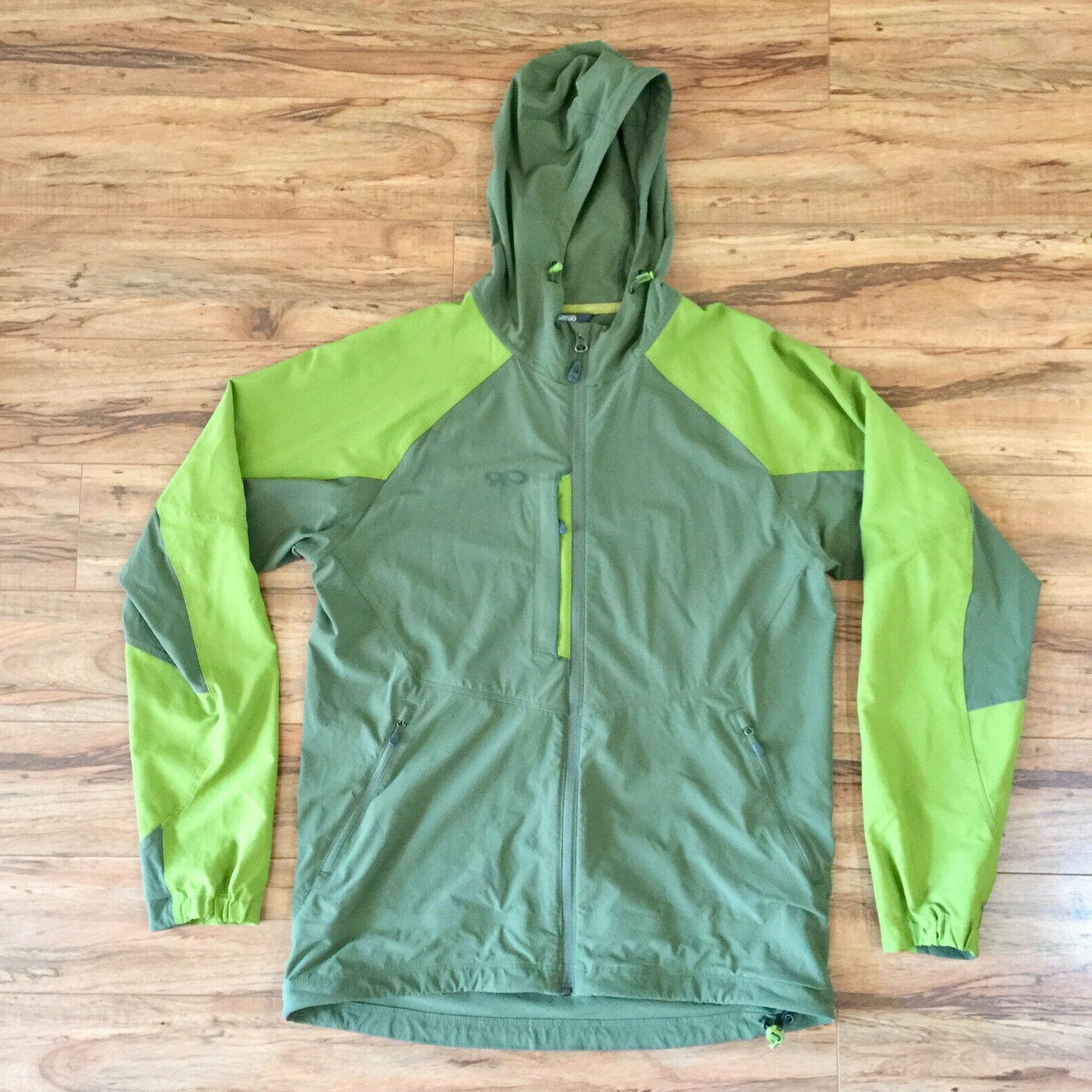 ferrosi hooded jacket stretchy softshell men medium