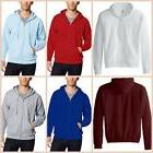 Fleece Hoodie Mens Zip Up Hooded Jacket Sweatshirt Casual Sm