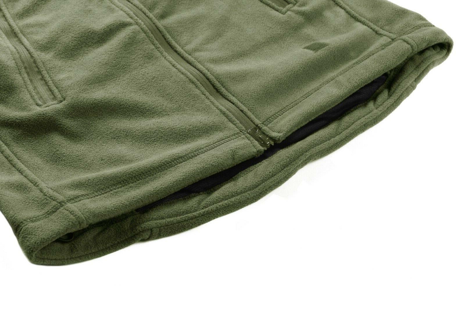 Fleece Lining Jackets Military Tactical Coats Up Outwear
