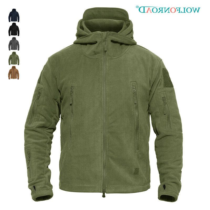fleece lining mens army jackets military tactical
