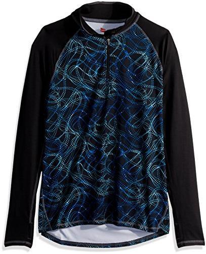 fleece quarter zip pullover ebony