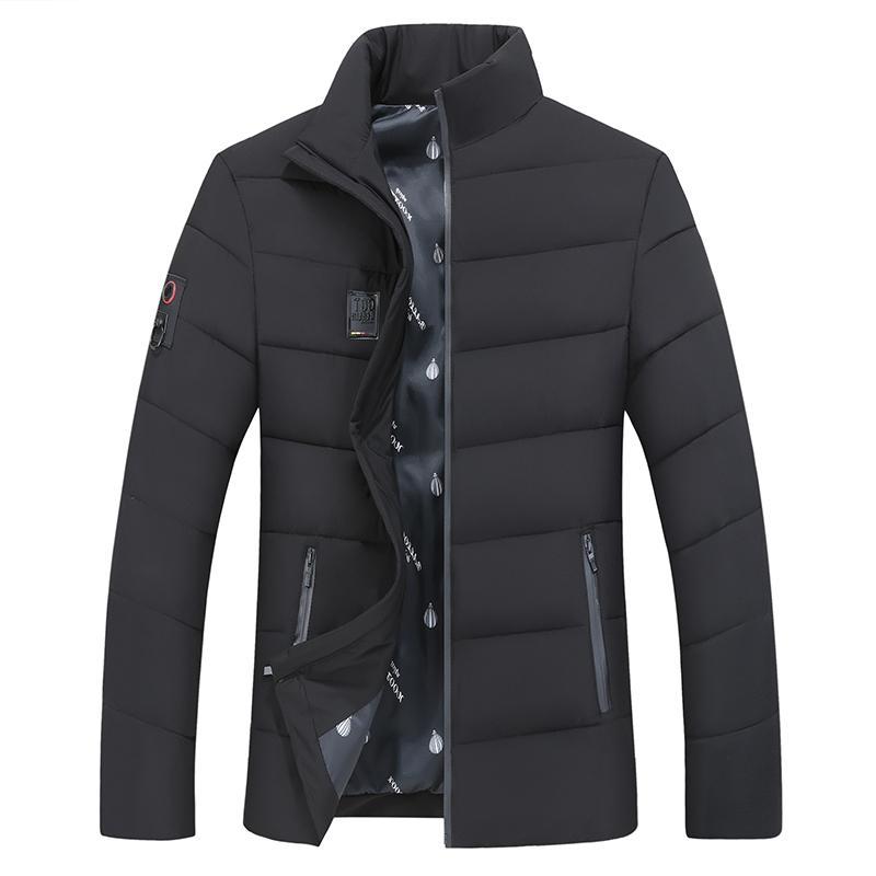 <font><b>Men's</b></font> <font><b>Jacket</b></font> <font><b>Large</b></font> size collar Coat Outerwear <font><b>jacket</b></font>
