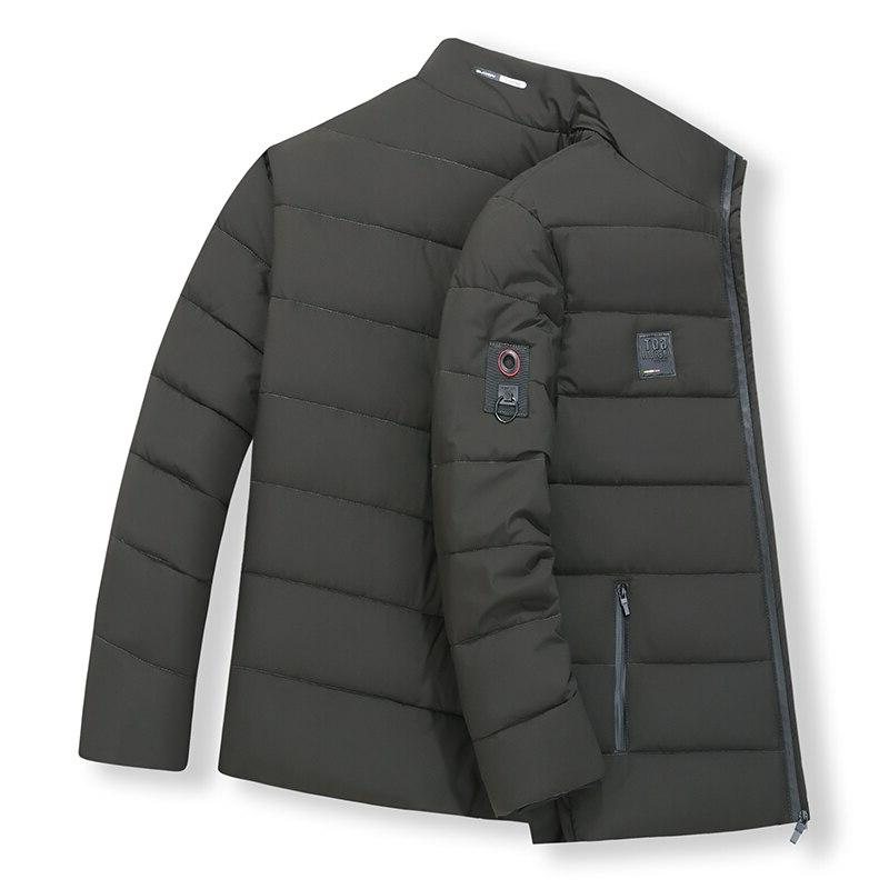 <font><b>Men's</b></font> Thick <font><b>Large</b></font> 8XL collar Coat Casual Outerwear Winter <font><b>Men's</b></font> <font><b>jacket</b></font>