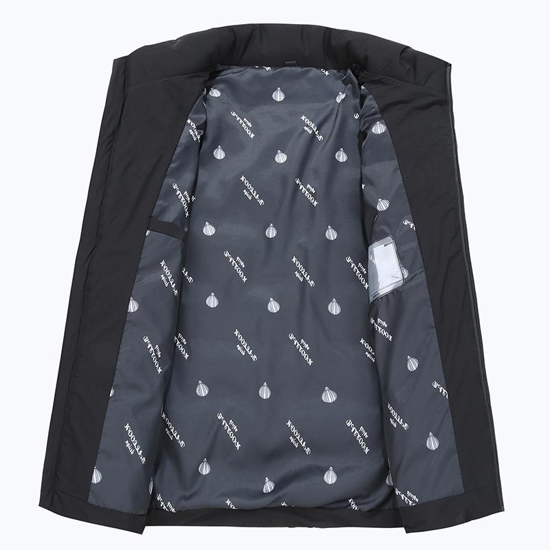 <font><b>Men's</b></font> Thick <font><b>Large</b></font> collar Cotton Coat <font><b>jacket</b></font>