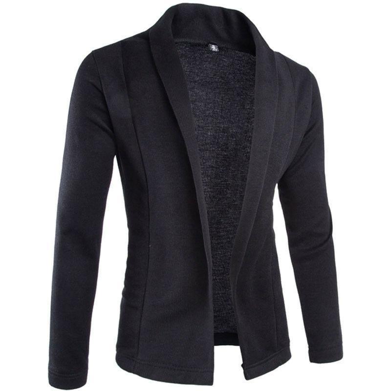 <font><b>Mens</b></font> Korean fashion cotton blazer <font><b>Jacket</b></font> black size <font><b>2XL</b></font> Male blazers <font><b>Mens</b></font> Wedding