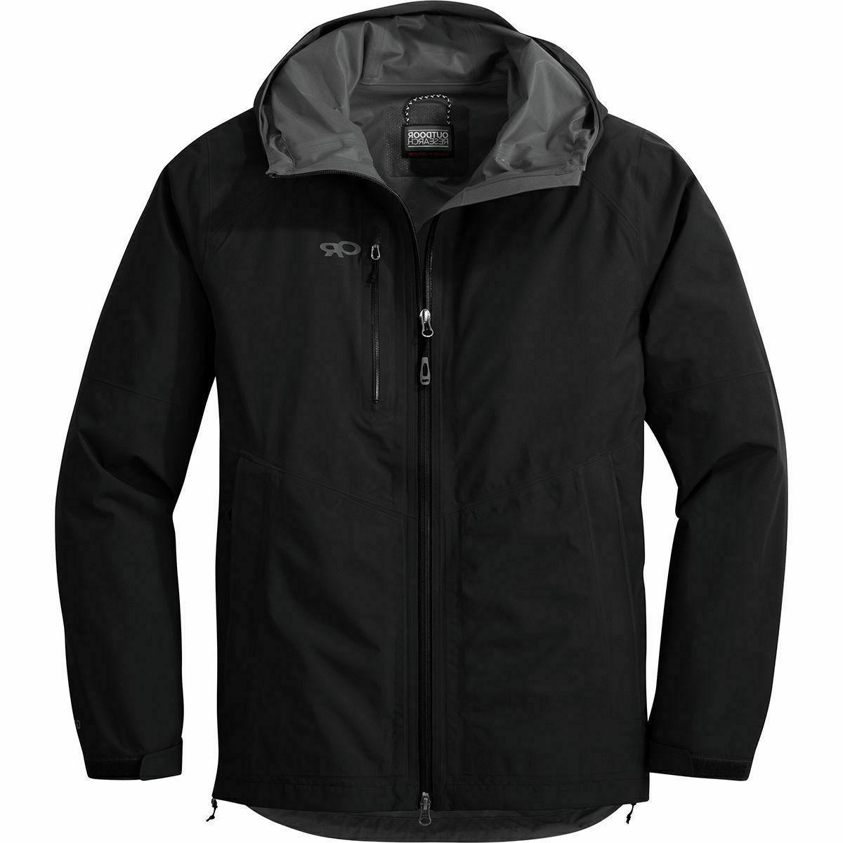 foray men s jacket black l large