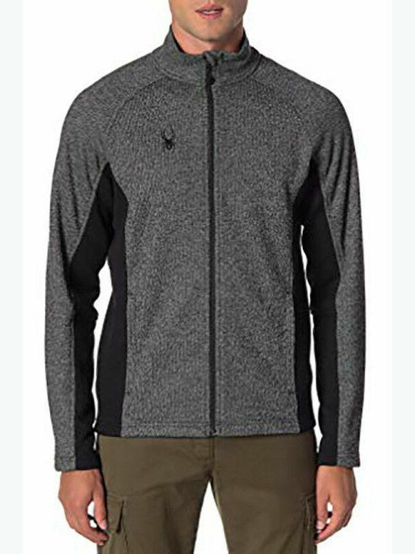 foremost full zip jacket men nwt grey