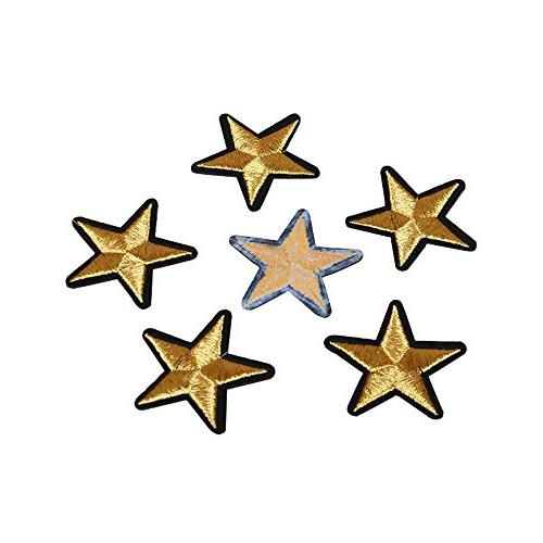 20Pack 3.6cm Star Patches Sew Badge Motif T-shirt