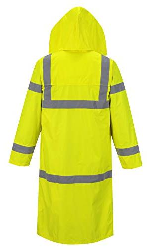 Portwest Hi-Vis Coat in Hi-Vis Rain