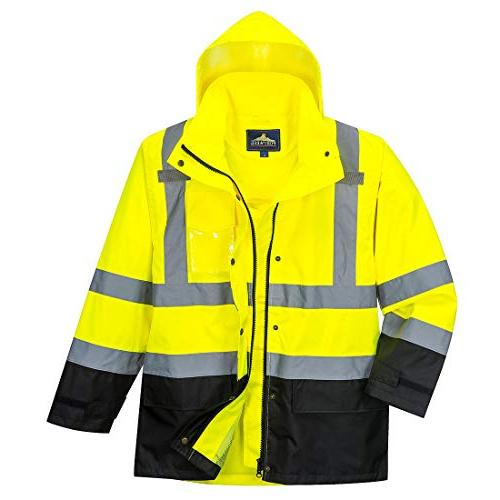 Portwest Contrast Jacket Insulated Safety ANSI 3,