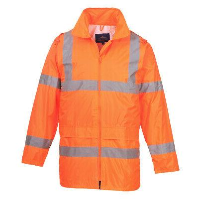 Hi Vis Rain Jacket, Safety Reflective Portwest UH440