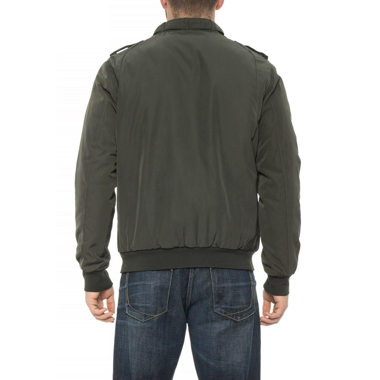 Members Only Jacket Mens XL - Green New