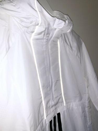 Adidas Anorak Wind Zip Calabasas White Small
