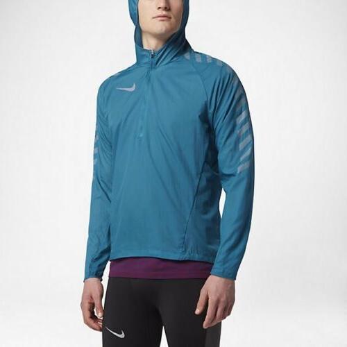 Nike Impossibly Light Men's Running Jacket XL Blue Gym Casua