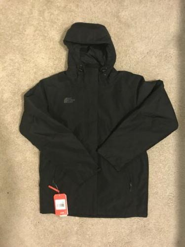 The North Face Inlux Insulated Mens Black Jacket TNF M $199