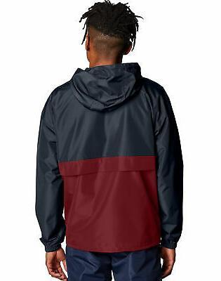 Champion Jacket Mens Packable Water Resistant Scuba Hood NWT