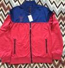 Guess Jeans Payce Track Jacket Full Zip Track  Mens Red & Bl