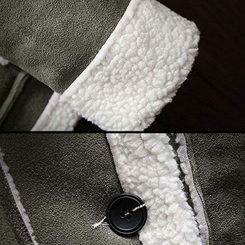 kemilove Winter Button Lined Long