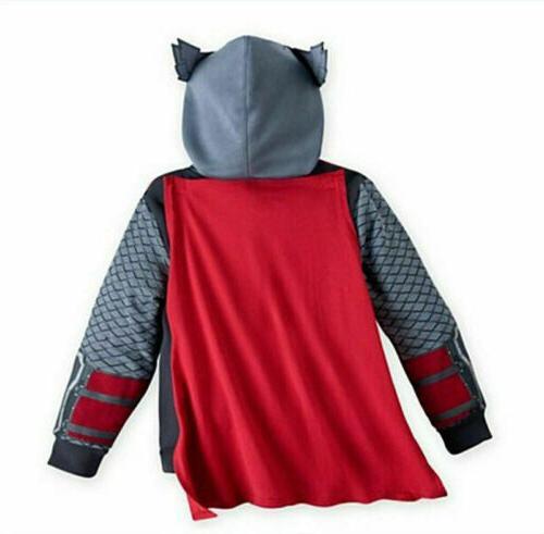 Kids Superhero Hoodies Sweatshirt Jacket Coat Outwear Top Clothes