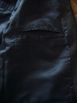 Lands Wool Coat Outerwear Jacket -