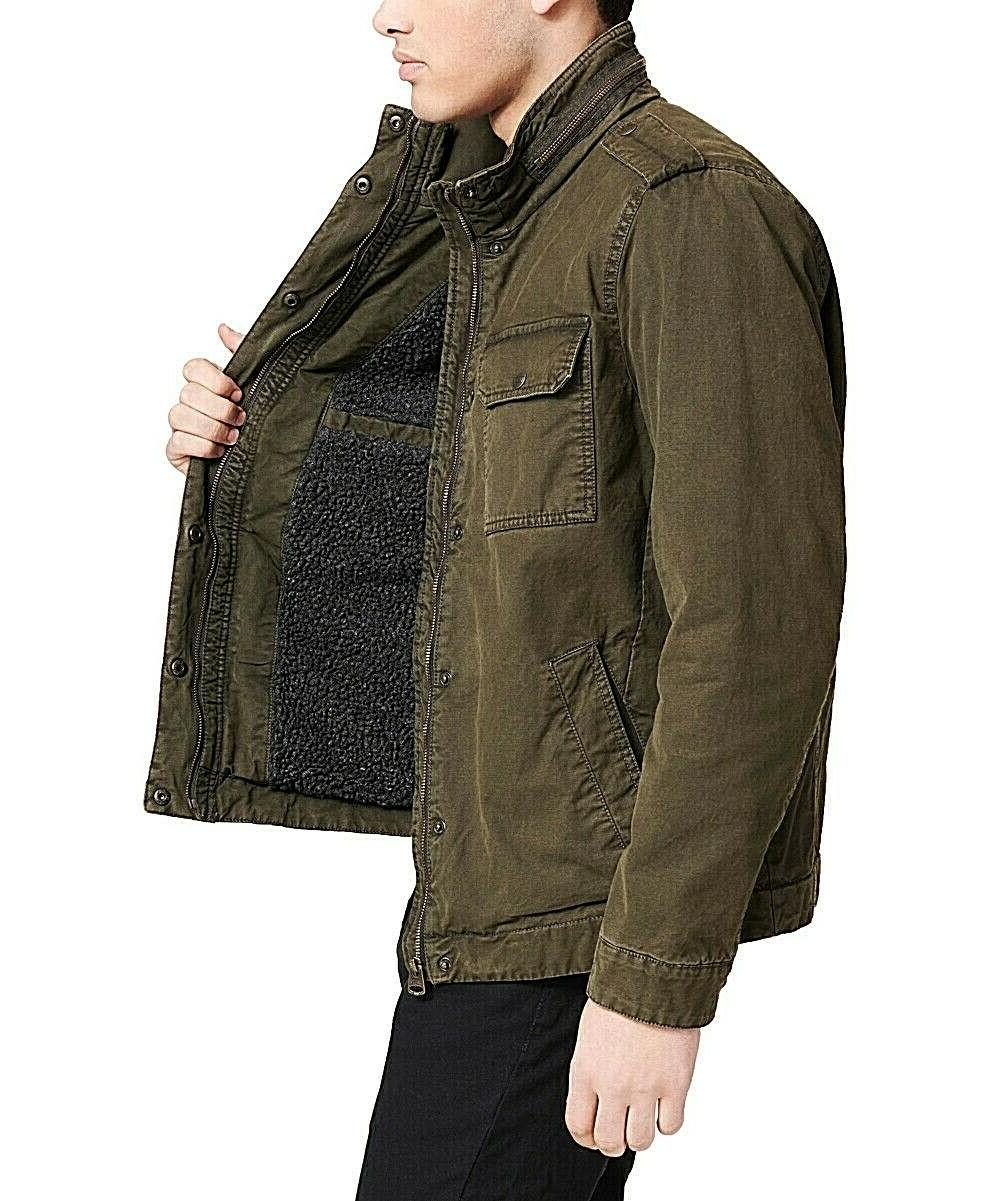 Levi's Canvass Field Jacket Olive Free 2-3 Shipping NWT