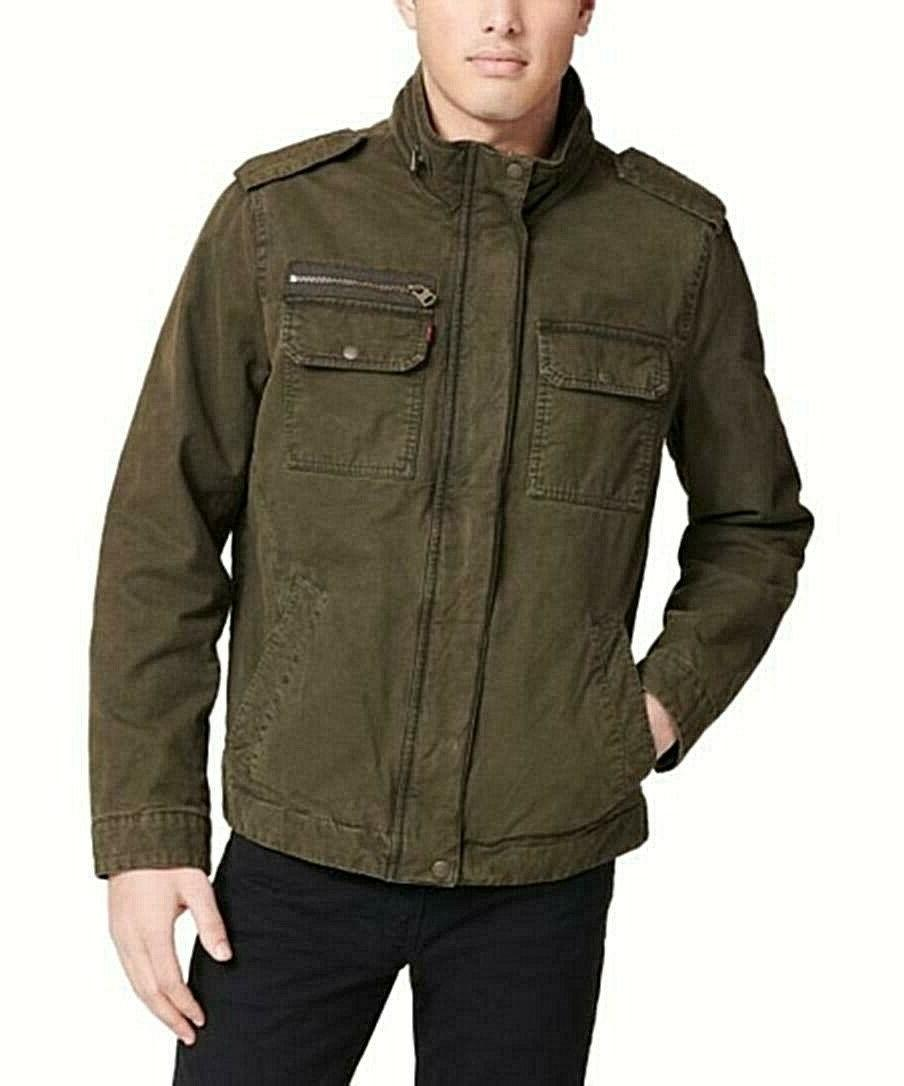 levi s men s military canvass field