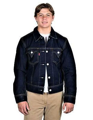Levi's Mens 1 Trucker Jacket Made In USA Denim
