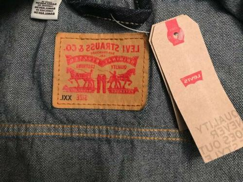 Levi's Strauss Men's Cotton Button Jean Jacket,