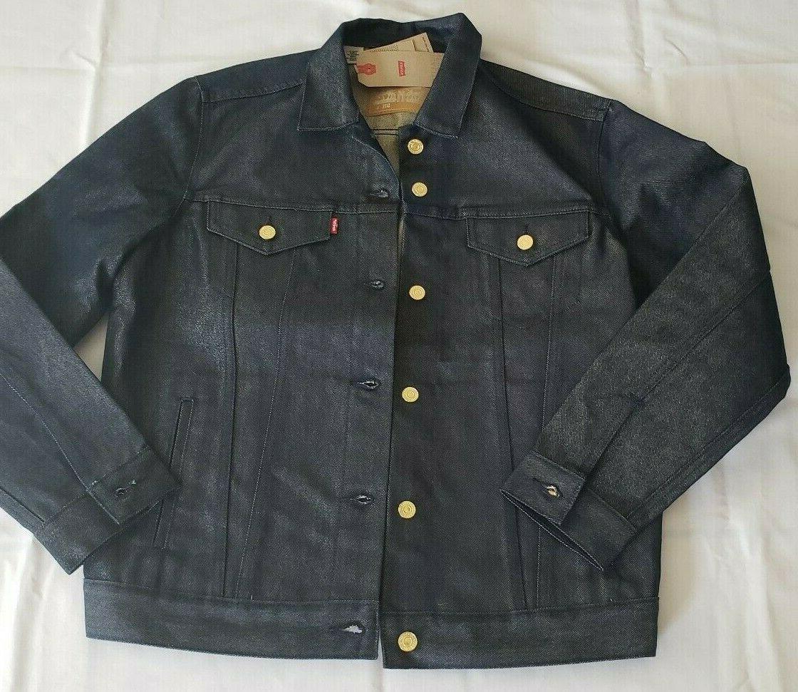 levi s trucker jacket raw unwashed stiff