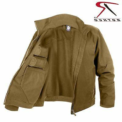 Rothco Lightweight Concealed Carry Jacket - Men's Coyote Bro