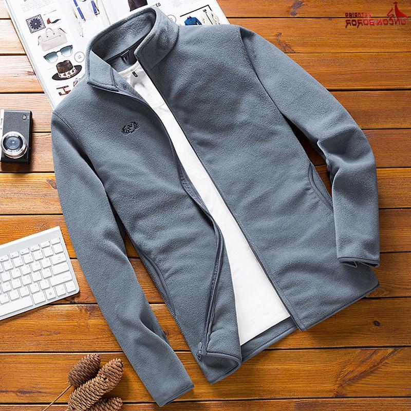 Man <font><b>Fleece</b></font> Tactical Softshell <font><b>Jacket</b></font> Windbreaker Sporting coats
