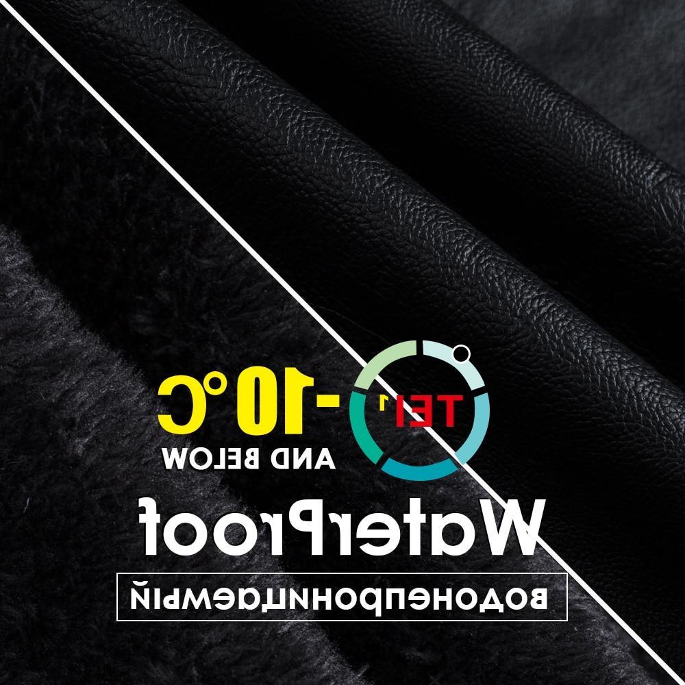 Oumor 2019 Casual <font><b>Leather</b></font> Autumn Fashion