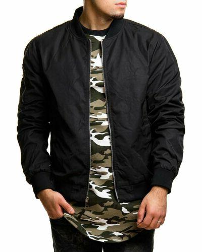 Men Casual Thin Baseball Bomber