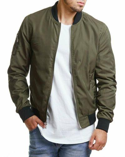 Men Business Jacket Thin Bomber Coat Fashion