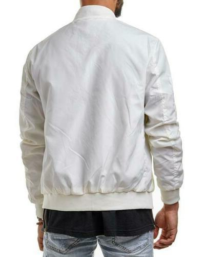 Men Jacket Thin Bomber