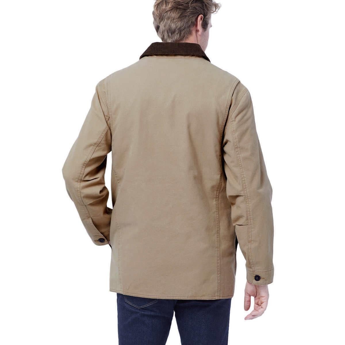 ORVIS Classic Canvas Collection Color Saddle Jacket