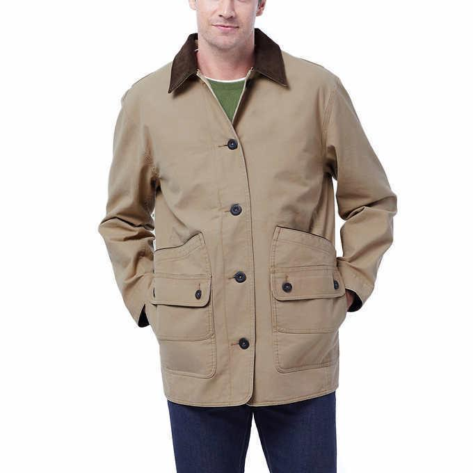 ORVIS Men Barn Canvas Collection Saddle Jacket