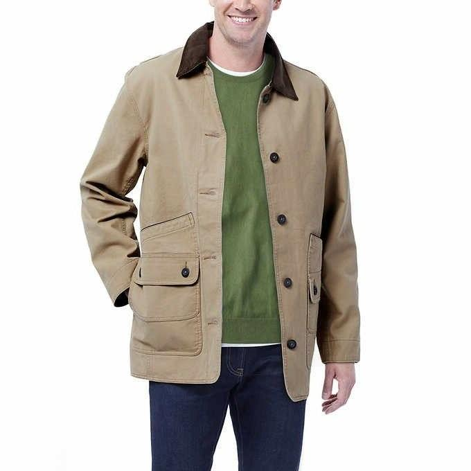 men classic barn canvas jacket collection color