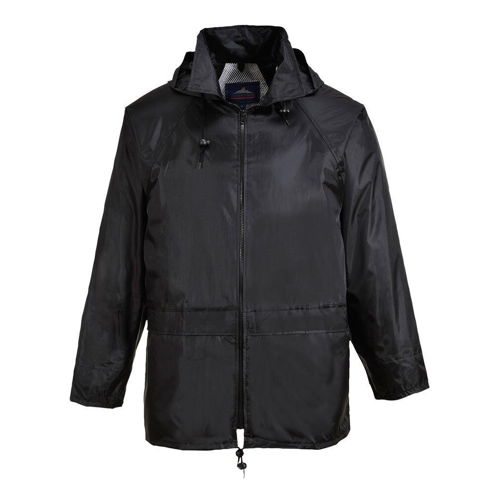 men classic rain jacket various color