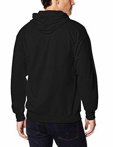 Men Full Zip Fleece BLACK 3XLarge Sweater Jacket