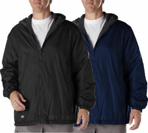 Men Jackets DICKIES Fleece lined Hooded Nylon Jacket Water R