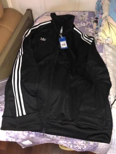men originals beckenbauer track jacket black white