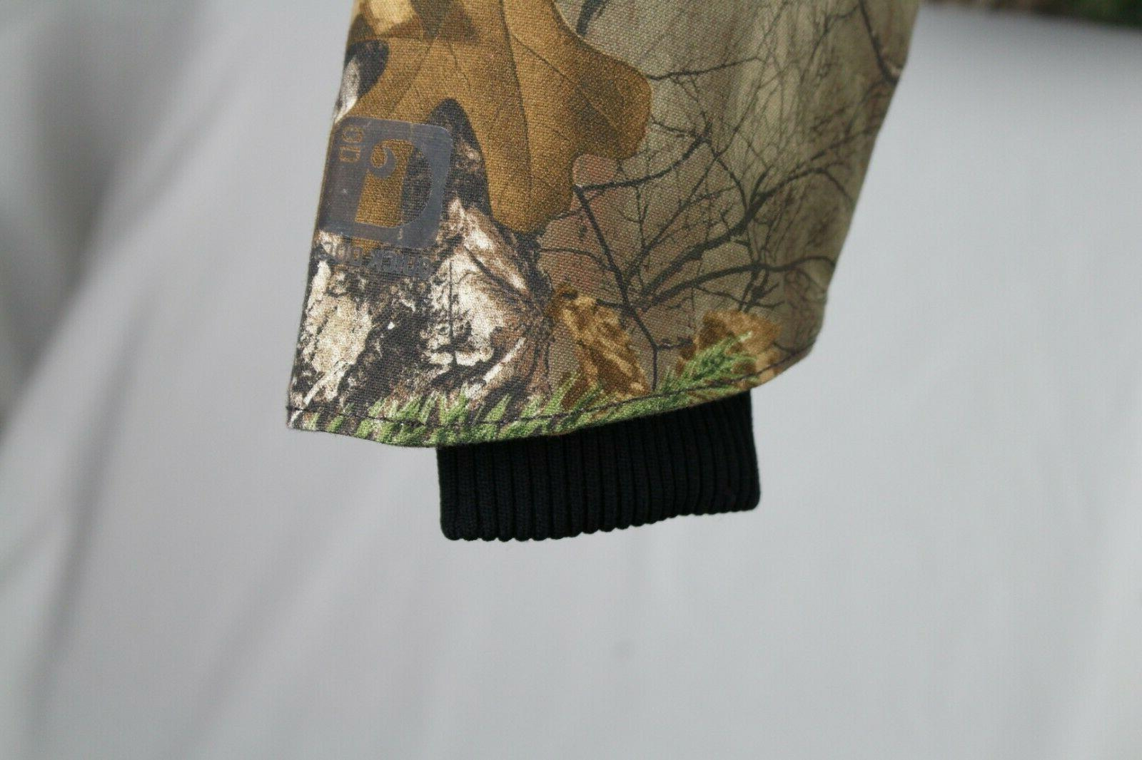 Carhartt Quick Duck Insulated XL Realtree