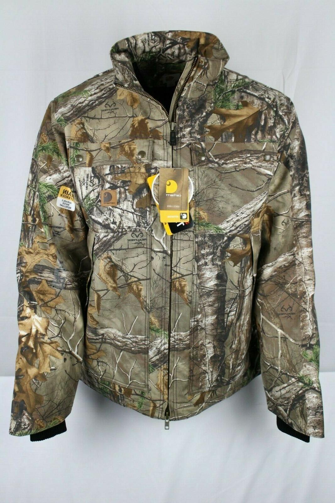 men s 101444 quick duck camo insulated